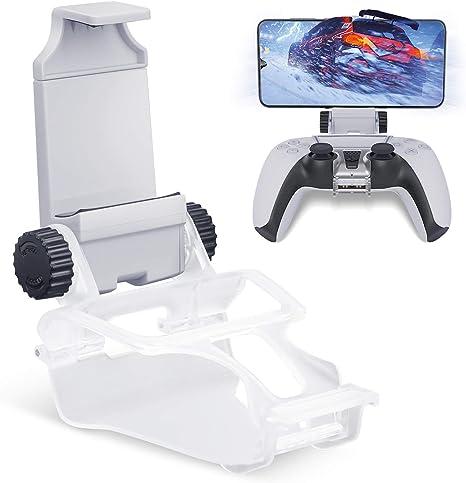 Comprar HONEYWHALE Clip de teléfono para controlador de PS5, soporte plegable para teléfono móvil, abrazadera de montaje con soporte ajustable para PlayStation 5/ PS5