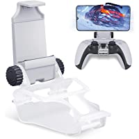 PS5 Controller Phone Mount Clip, HONEYWHALE Foldable Mobile Phone Holder Cellphone Clamp Mount Clamp Bracket with…