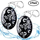ASTUBIA Personal Alarm Keychain [Water-Proof] 120DB Self-Defense Emergency Sound Siren Safe Song Alarm for Women Kids Elderly Superior Explorer -2 Pack