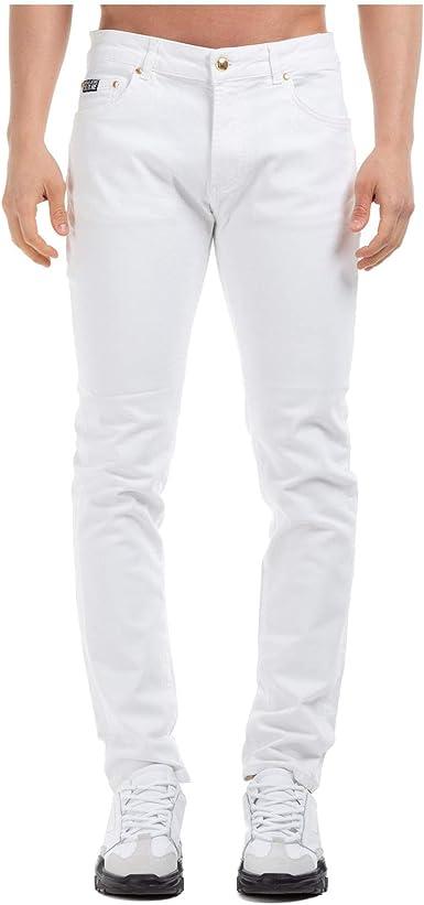 Versace Jeans Couture Bianco - Vaqueros para hombre Blanco ...