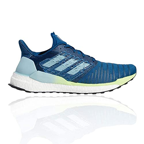 adidas Solar Boost M, Zapatillas de Running para Hombre, Azul Legend Marine/Ash Grey S18/Hi/Res Yellow, 44 2/3 EU: Amazon.es: Zapatos y complementos