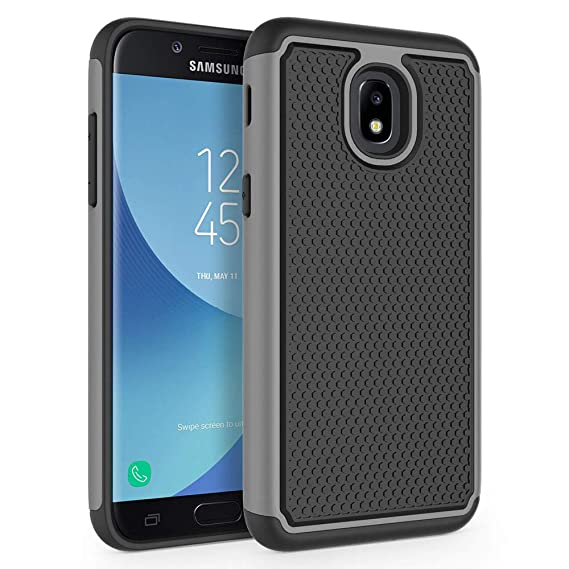 more photos 06754 9b9d4 Case for Samsung Galaxy J3 2018 / J3 V 3rd Gen / J3V 2018 / J3 Orbit / J3  Star / J3 Achieve/Express Prime 3 / Amp Prime 3 / Sol 3 / J3 Aura, SYONER  ...