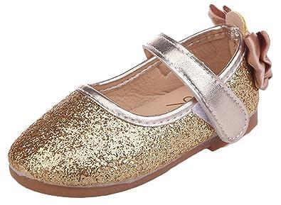 ec1087a971264 Snone Bébé Fille Princesse Chaussures Ballerines Mary Jane Chaussures  Étudiants Et Automne Chaussures Glitter Fille Chaussures Mignon Petite  Semelle Souple ...