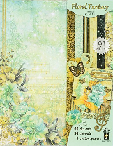 Hot Off The Press – Floral Fantasy Artful Card Kit