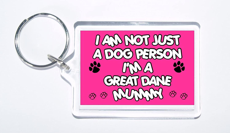 cadeau id/éal//cadeau Je ne suis pas un chien personne Je suis une dogue allemand momie/ /Dog Porte-cl/és