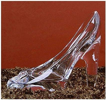 Cristal Cenicienta Zapatos De Tacón Alto Ornamento Regalos Cristal Transparente Decoración Para Niña Venidera Ceremonia Cumpleaños Regalos Health Personal Care