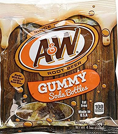 Kenny de la botella de refresco Gummies Variety Pack, a & W ...