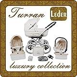 Turran Eko Silver Exclusivo con sistema de Carritos con Capazos Carritos con Capazo de asiento de coche