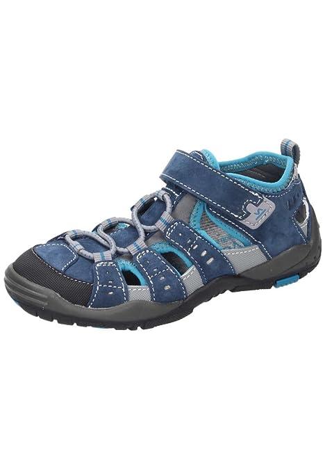Vado Vado Jungen Klettschuh - Mocasines de Piel para niña azul azul: Amazon.es: Zapatos y complementos