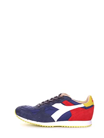 best loved cf618 b995e sneakers uomo diadora heritage trident ny s.w nylon blu ...
