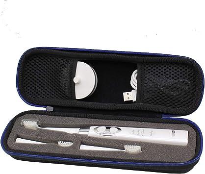 Duro Viaje Estuche Bolso Funda para Cepillo de dientes eléctrico fairywill fw-507 Fw917 recargable por GUBEE: Amazon.es: Salud y cuidado personal