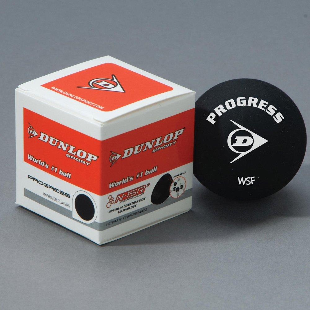 Dunlop Racquet Sports Progress Squash Balls Pack Of 12 by Dunlop
