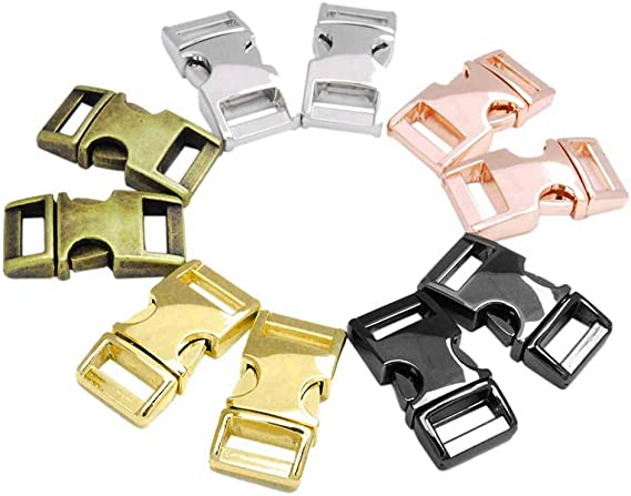 Side Release Buckles Curved Buckle Backpack Belt Parts Paracord Bracelet Lock