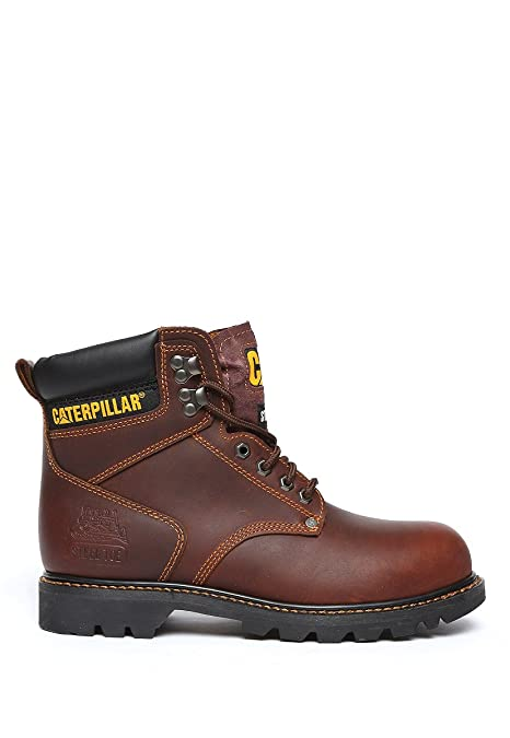 CAT Bota Caterpillar Second Shift St Bota para Hombre Café Talla 26 ... fec4598b3ce