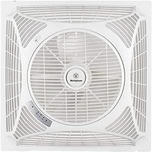 Westinghouse ventilador de techo Windsquare (L x B x H) 60 x 60 x 21 cm Flügelfarbe: blanco cajafar: Amazon.es: Hogar