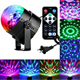Sound Activated Party Lights with Remote Control Dj Lighting, RBG Disco Ball, Strobe Lamp 7 Modes Stage Par Light for Home Room Dance Parties Birthday DJ Bar Karaoke Xmas Wedding Show Club Pub фото