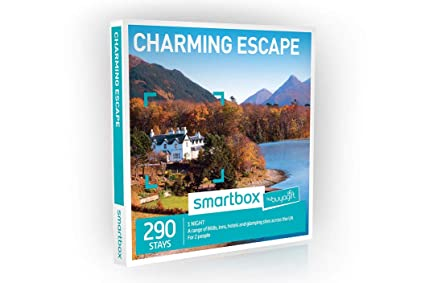 fa55c43f8c33 Image Unavailable. Image not available for. Colour: Buyagift One Night  Charming Escape Experience Gift Box ...