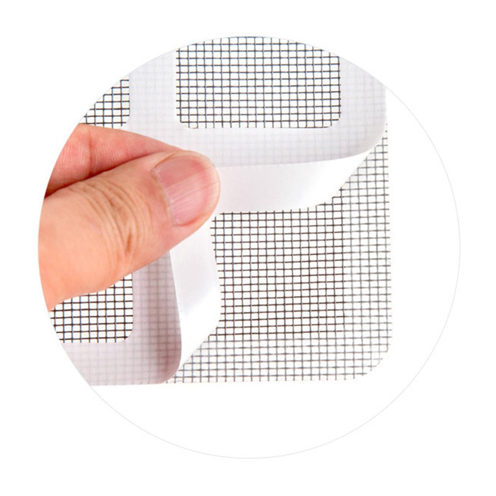 Fen/être d/ét/é Moustiquaire Patch R/éparation des trous bris/és sur la fen/être de l/écran