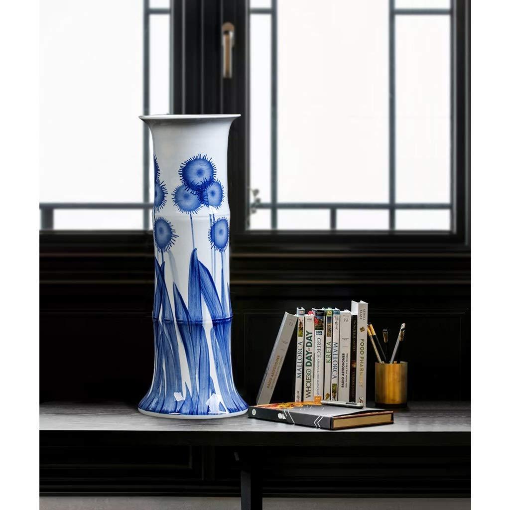 Jarrones Girasol clásico florero de cerámica for la decoración del ...