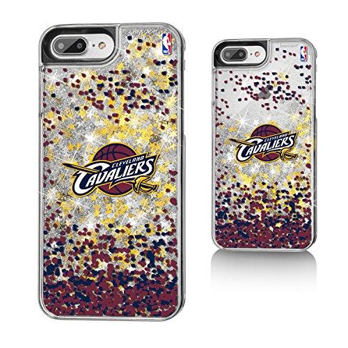Cleveland Cavaliers Gold Glitter iPhone 7+ Case NBA
