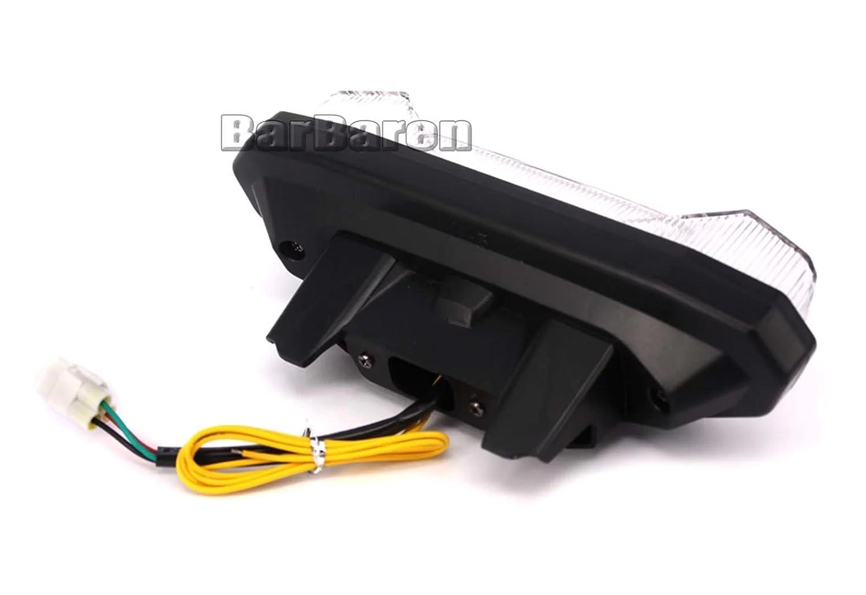 Frecce Luci Posteriori LED luci posteriori Luci di stop Fanale posteriore con integrato Indicatore di direzione Indicatore per Yamaha MT 09/MT 09/Tracer FZ 09