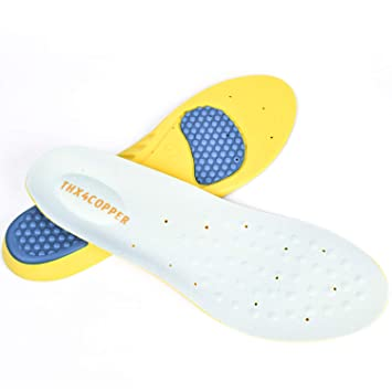9f1655419f0e7 Amazon.com: Thx4 Copper Plantar Fasciitis Feet Insoles - Guaranteed ...