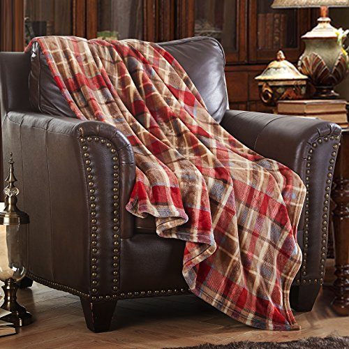 MERRYLIFE Decorative Throw Blanket Ultra-Plush Comfort | Soft, Colorful, Oversized | Home, Couch, Outdoor, Travel Use | (50' 60', LOVE URBAN)