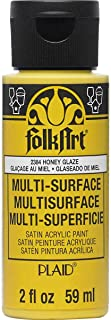product image for FolkArt Multi Surface Acrylic Paint, 2 oz, Honey Glaze 2 Fl Oz