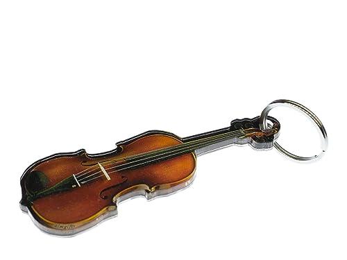 miniblings Llavero Colgante Llavero de la música del violín ...