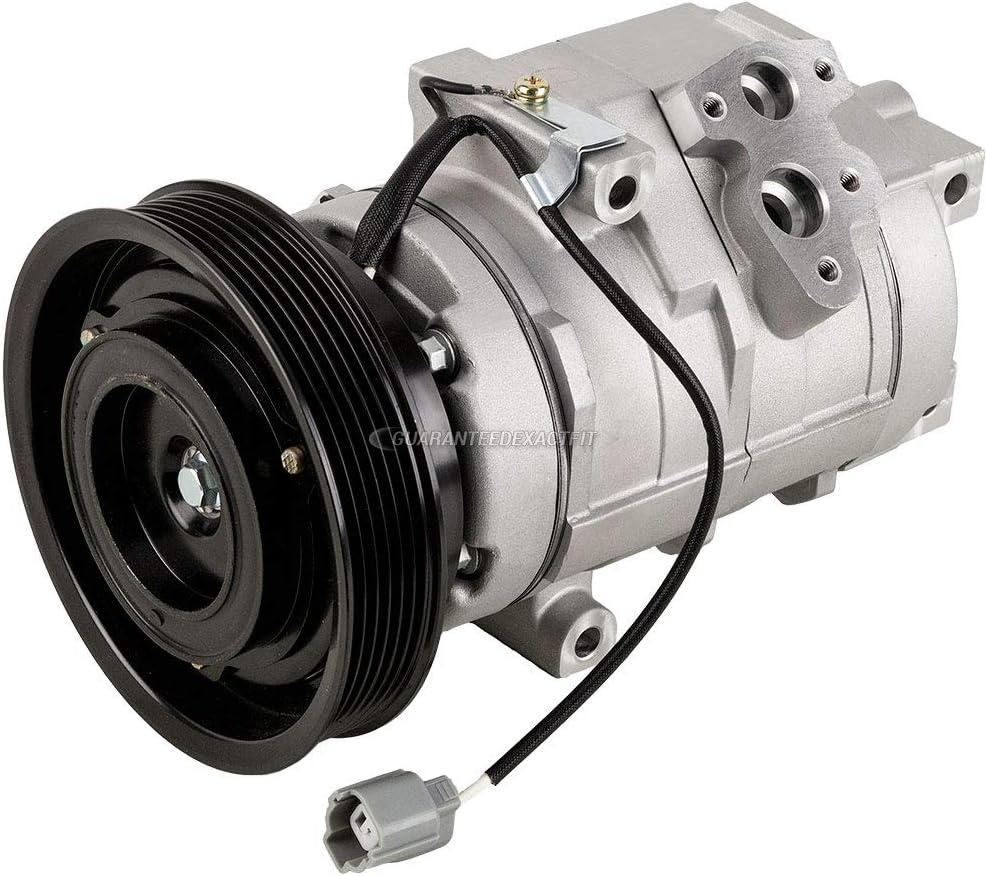 BuyAutoParts 60-86053R2 NEW For Honda Odyssey Pilot /& Acura MDX AC Compressor w//A//C Drier