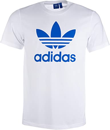 adidas Originals - Camiseta - para hombre blanco blanco Large ...