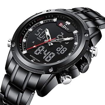 SW Watches Biden Reloj Digital LED Relojes De Pulsera Militares para Hombre Relojes Electrónicos De Lujo De Marca Superior Masculina: Amazon.es: Deportes y ...