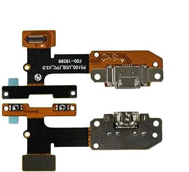 iReplaceParts Para Lenovo Yoga Tab 3 Dock Conector Puerto de Carga Botones de Volumen YT3-X50F P5100
