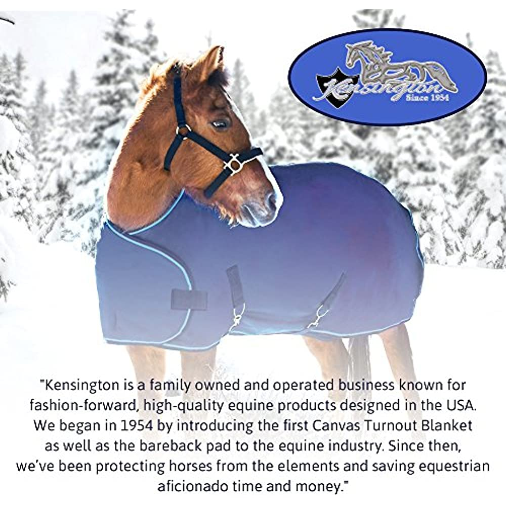 Kensington Door Guard for Horses /— Designed to Keep Horse Securely in Stall in Style /— Adjustable Straps and Hardware Included