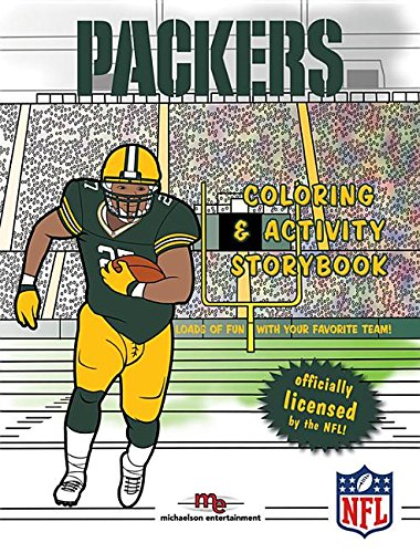 (Green Bay Packers Coloring & Activity Storybook)