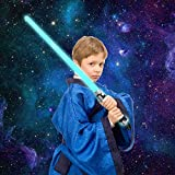 Treasure Ventures Kids Toy Laser Sword – 2 Pack – LED Light Up Toys – Similar to Star Wars Light Saber – Great for Birthday Gift, Themed Party Favors, or Costumes