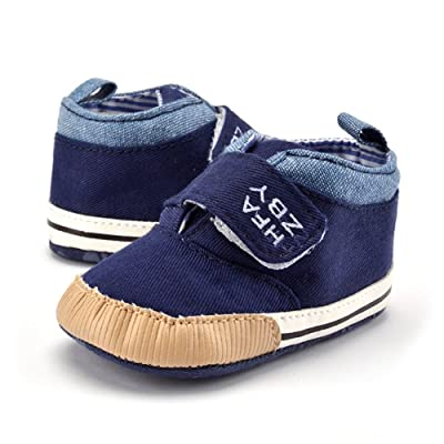 Baby Boys Girls Soft Sole Crib Shoes Non-slip Moccasin First Walkers