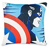 Marvel Captain America and Black Widow Throw Pillow