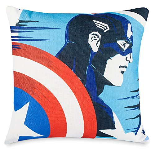 Marvel Captain America and Black Widow Throw Pillow -