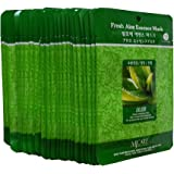 MJ Essence Face Skin Mask Pack Elastic,Moisturized,Clean,Relaxed 30Pcs