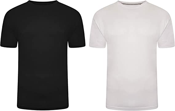 Pierre Roche Mens Big and Tall T Shirts Pack of 6 /& Pack of 2 Plus Casual Tee