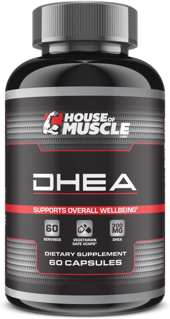 DHEA 300mg (60 Capsules), High Potency DHEA, Restore DHEA Levels & Promote Hormonal Balance, Support Overall Health & Well-Being, Vegetarian Safe Non-Gelatin Capsules