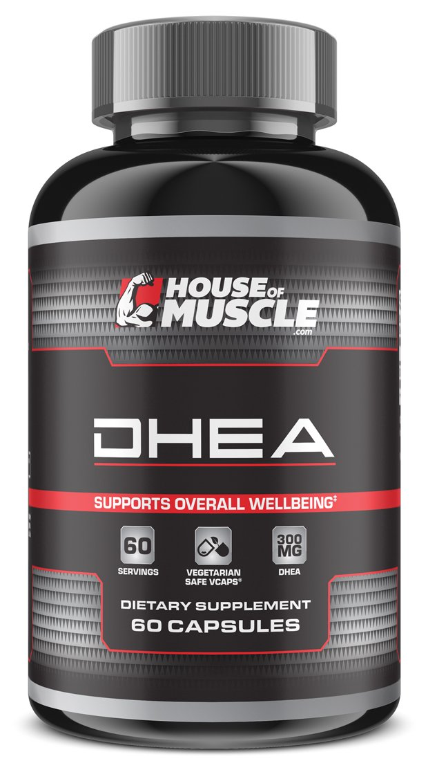 DHEA 300mg (60 Capsules), Most Potent DHEA Available, Restore DHEA Levels & Promote Hormonal Balance, Support Overall Health & Well-Being, Vegetarian Safe Non-Gelatin Capsules