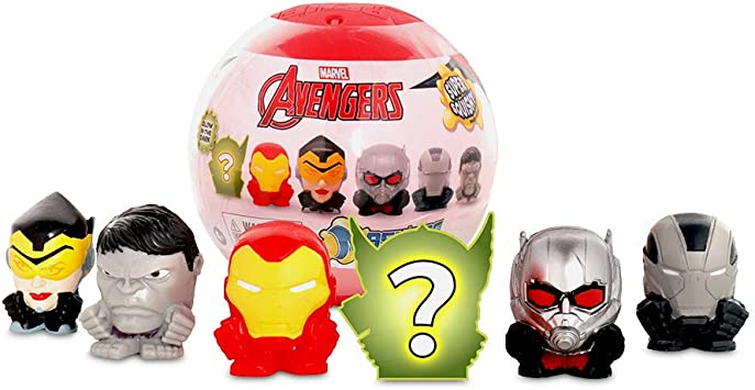 Amazon.com: Mashems Marvel Avengers Super Sphere Multipack ...