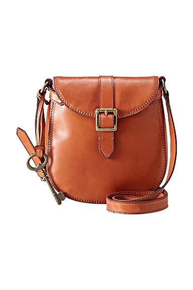 e487f5c7c Fossil ZB5400 Vintage Revival Small Flap Bag Rust: Amazon.co.uk ...