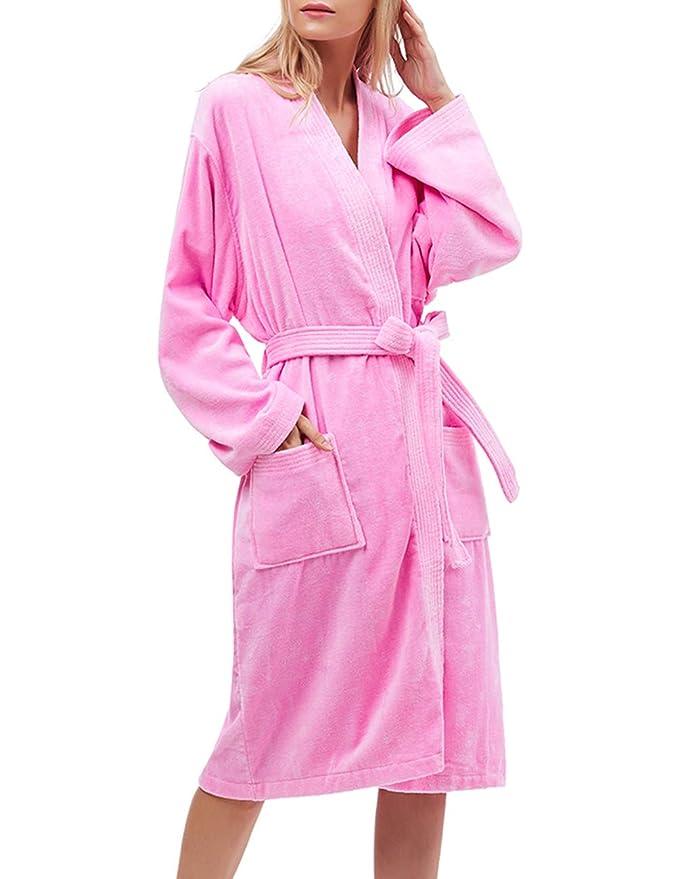9d7e900d12 Amazon.com  Find Dress Robe Pakistan Cotton Soft Water Absorption Bathrobe   Clothing