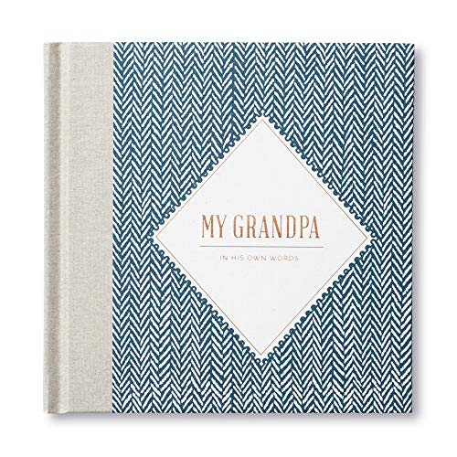 My Grandpa: In His Own Words - A keepsake interview book.