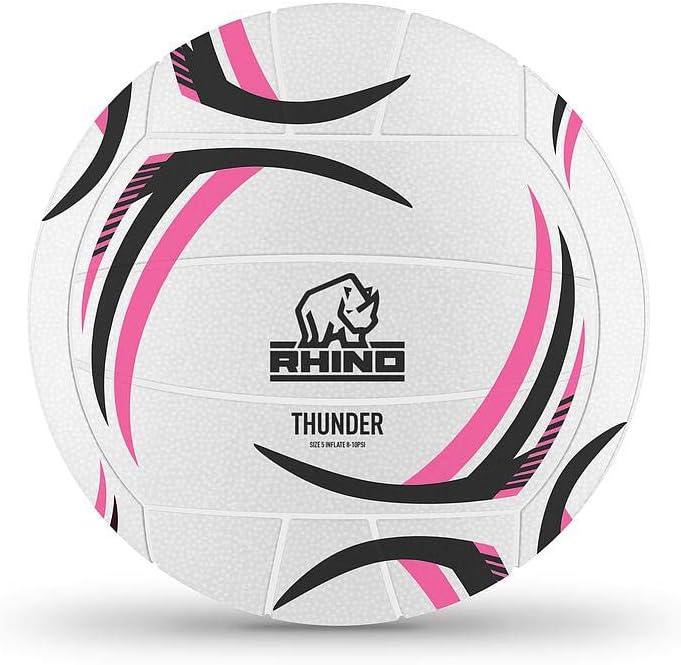 Rhino Netball Ball Thunder Moulded4
