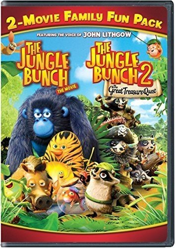 DVD : The Jungle Bunch 2-Movie Family Fun Pack (Snap Case)