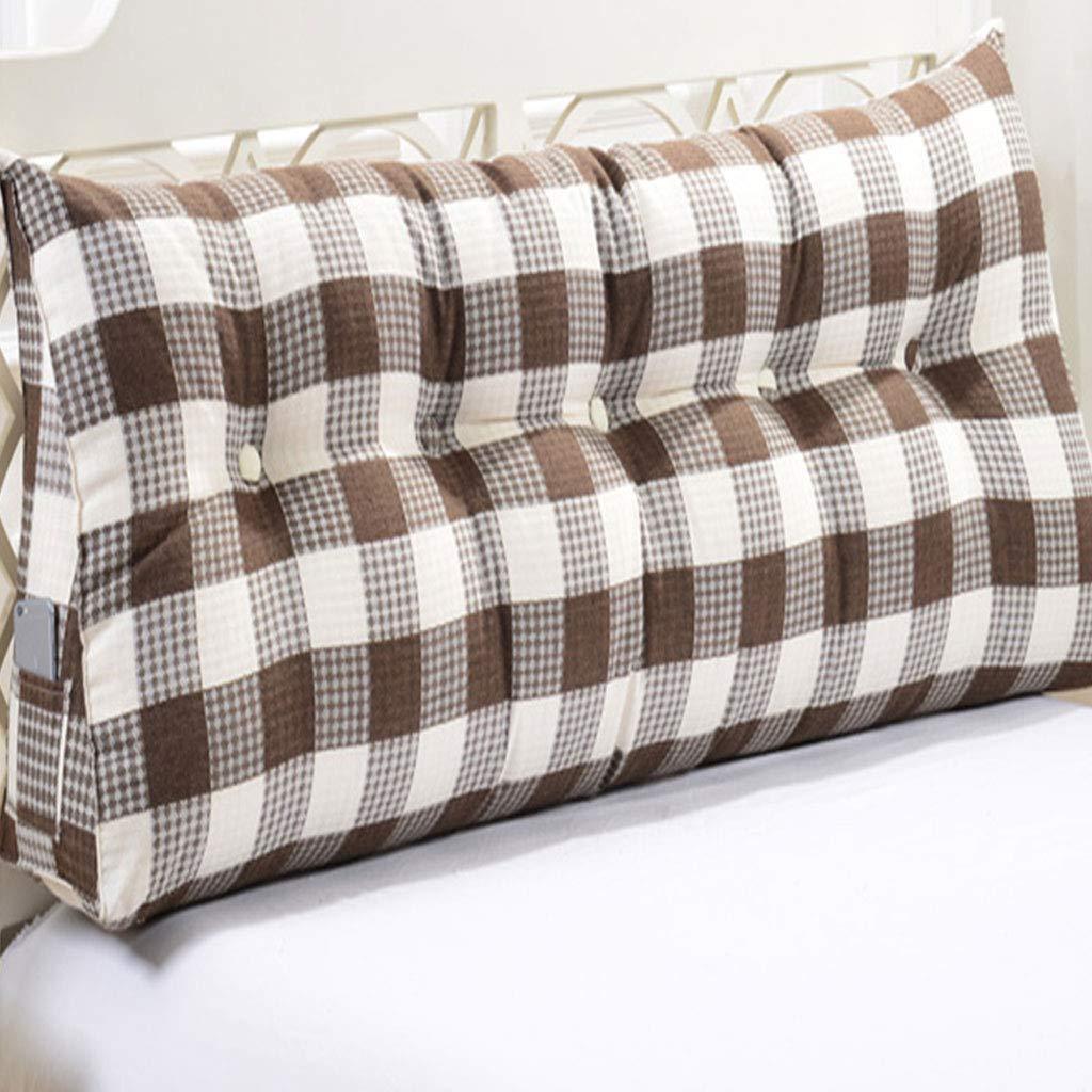 WCH ファッション枕ヘッドボードクッションソフトpackwaist背もたれ長い枕 (Color : D, サイズ : L150*W20*H50cm) B07RHZ9KJK D L150*W20*H50cm